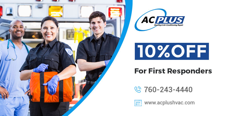 10 % off For First Responders